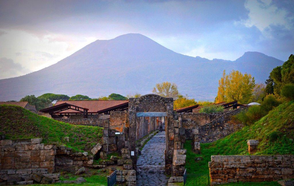 Pompei - Vesuvio E Pompei