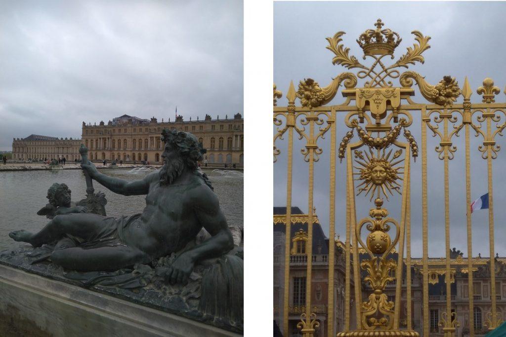 Versailles - Cancello Di Versailles E Parco Interno
