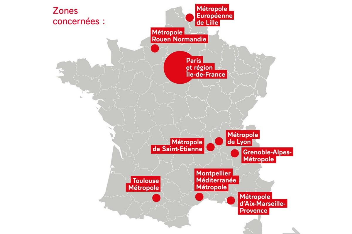 Cartina Francia Tolosa.Coprifuoco A Parigi Le Nuove Disposizioni Del Governo Itparigi