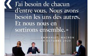Coprifuoco a Parigi - Macron