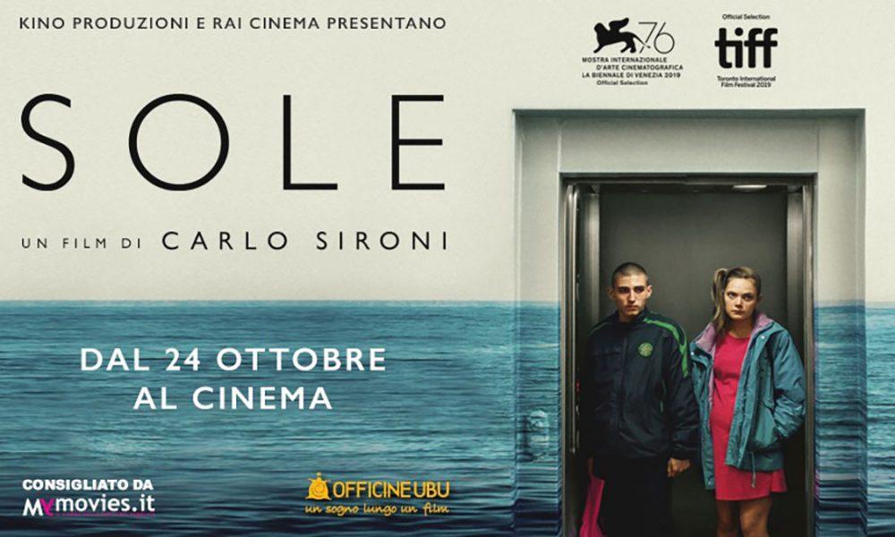 Carlo Sironi - locandina del film Sole