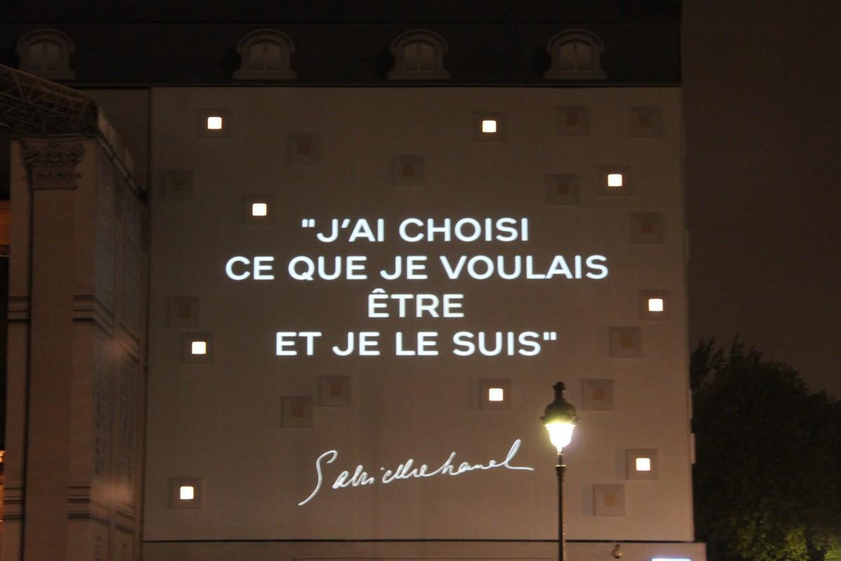 Mostra Coco Chanel Citazione