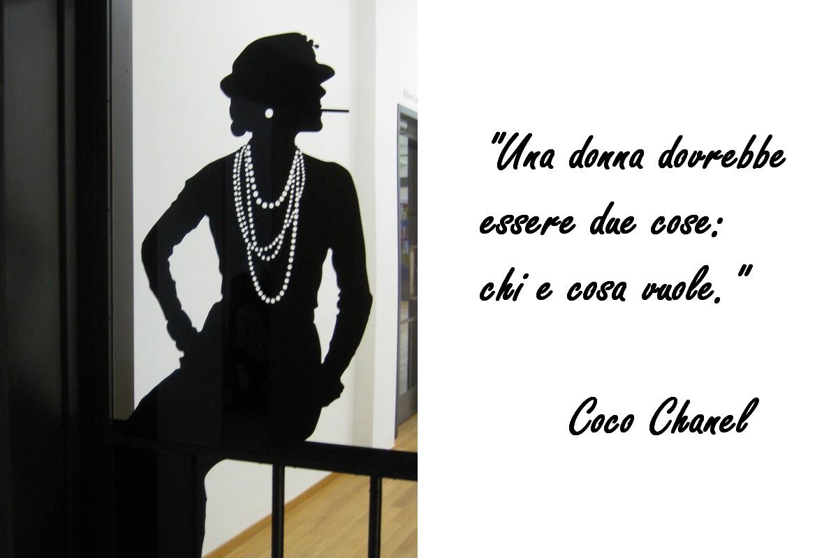 Mostra Coco Chanel Profilo Chanel E Citazione