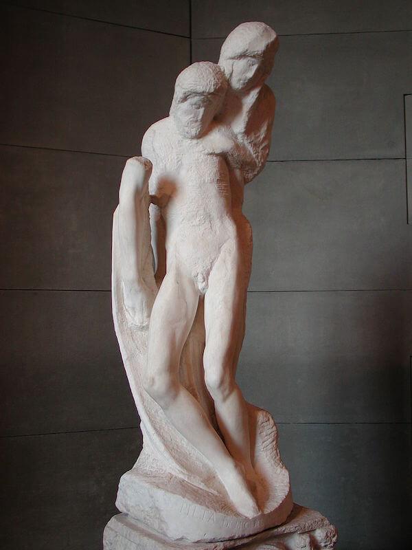Il corpo e l'anima da Donatello a Michelangelo Pietà Rondanini