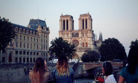Notre Dame de Paris dopo l'incendio del 2019