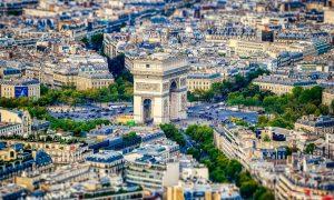 Come sarà la Parigi del futuro - Arc De Triomphe