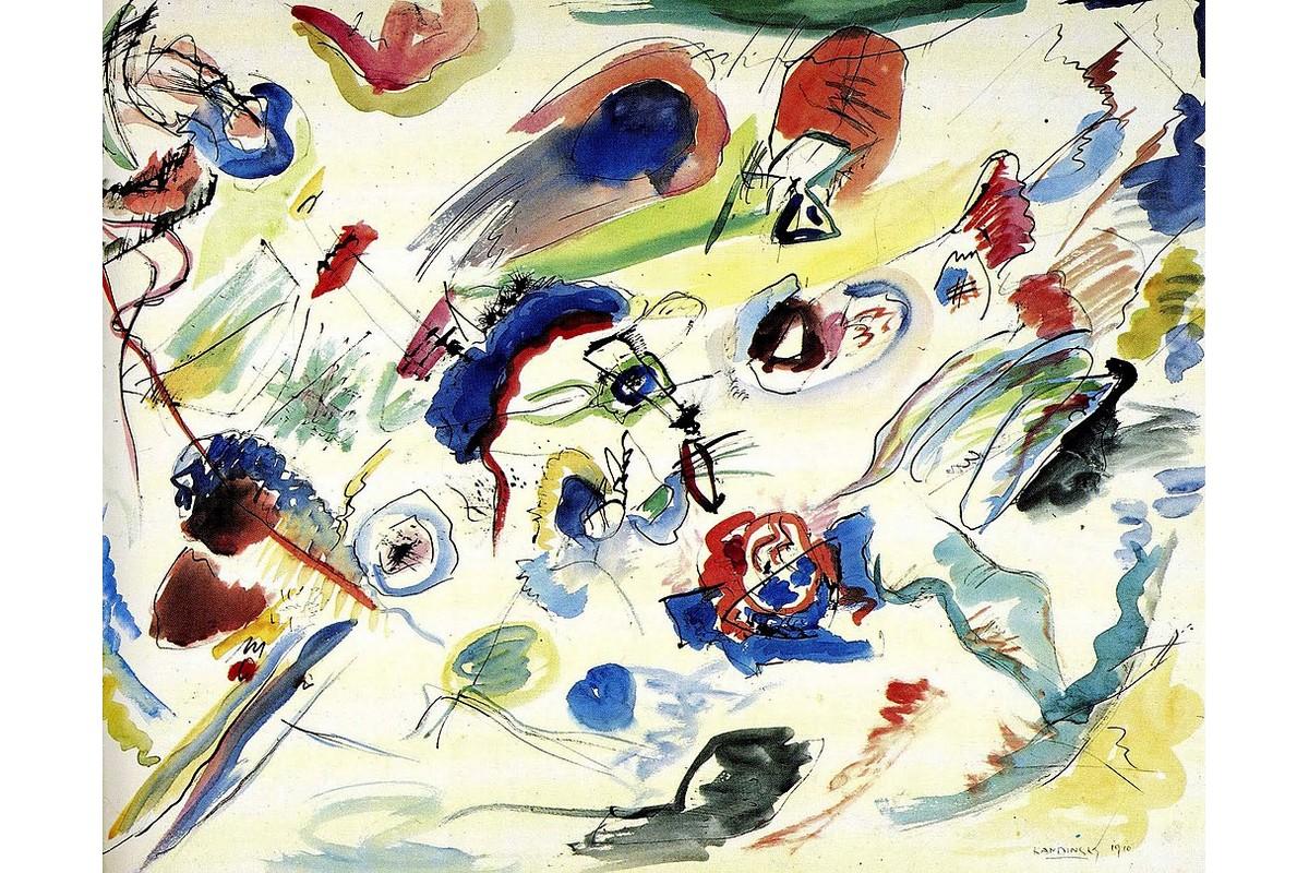Wassily Kandinsky - primo acquerello