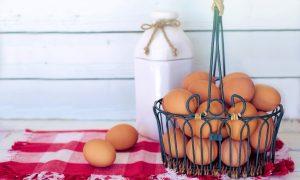 Cesto con le uova