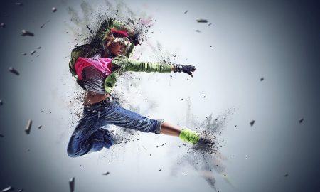 giornata internazionale della danza - danzatrice hip hop