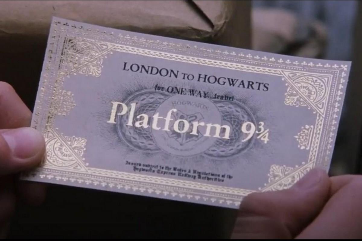 Hogwarts Express - Biglietto Harry Potter