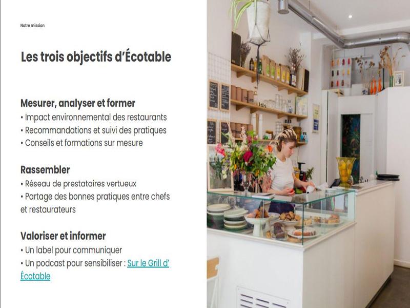Ecotable Taste Of Paris