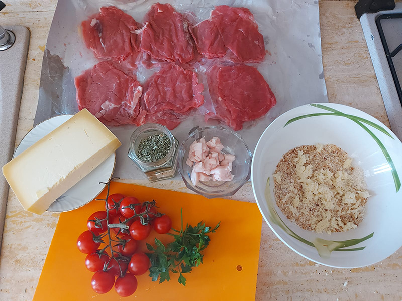 Ingredienti Spiedini Palermitani
