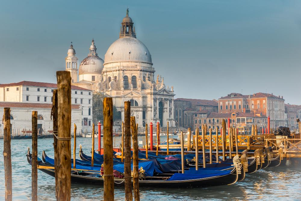 Mostra del cinema di Venezia -Basilica Santa Maria Della Salud Venice