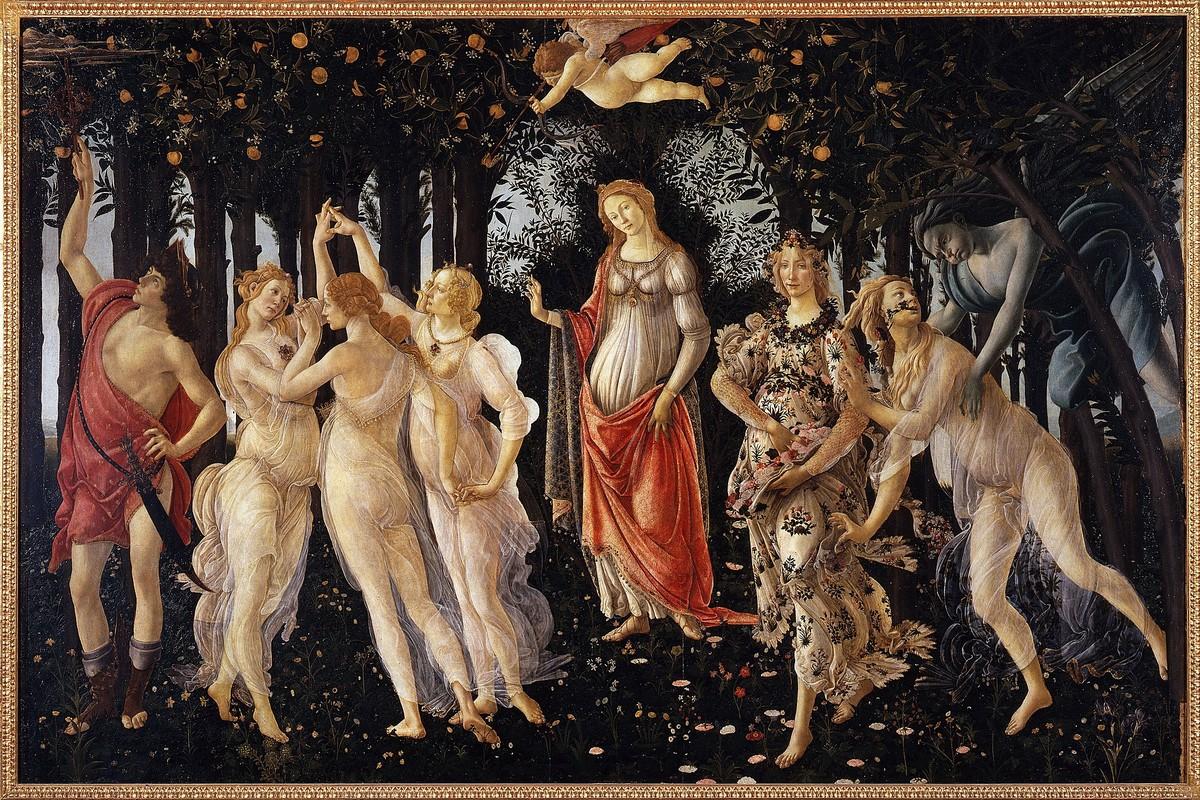 Expo Botticelli - La Primavera