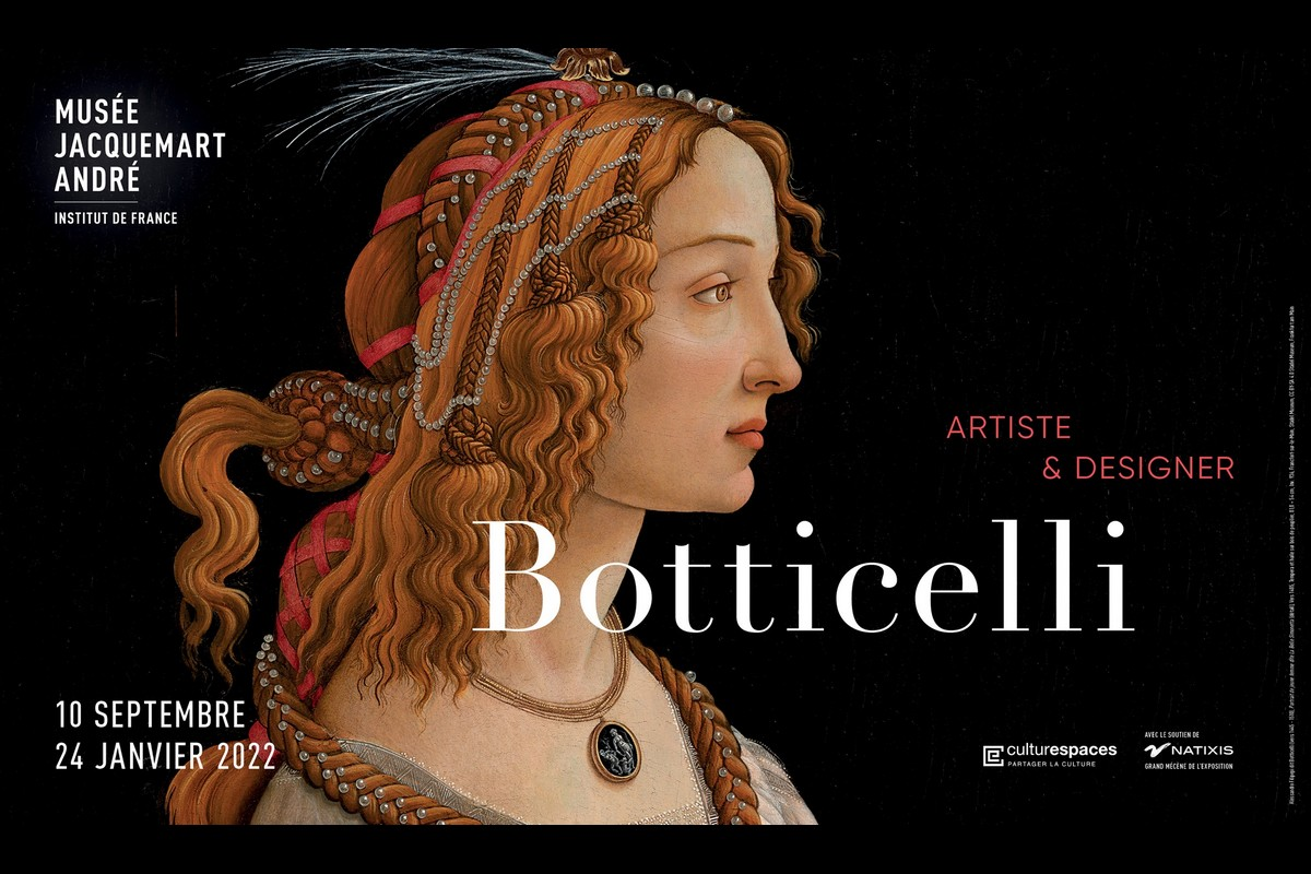Expo Botticelli - Locandina Jacquemart