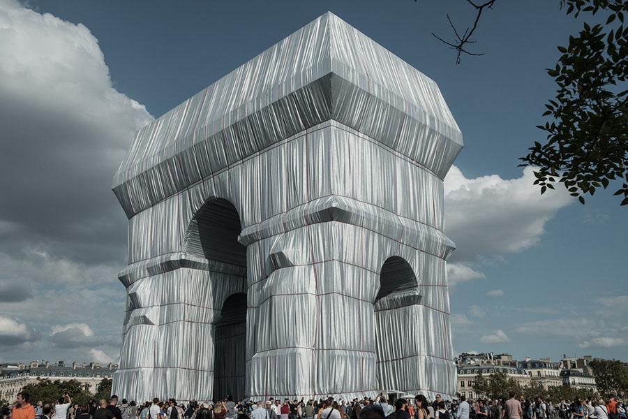 Arc de Triomphe - Arco di Trionfo impacchettato