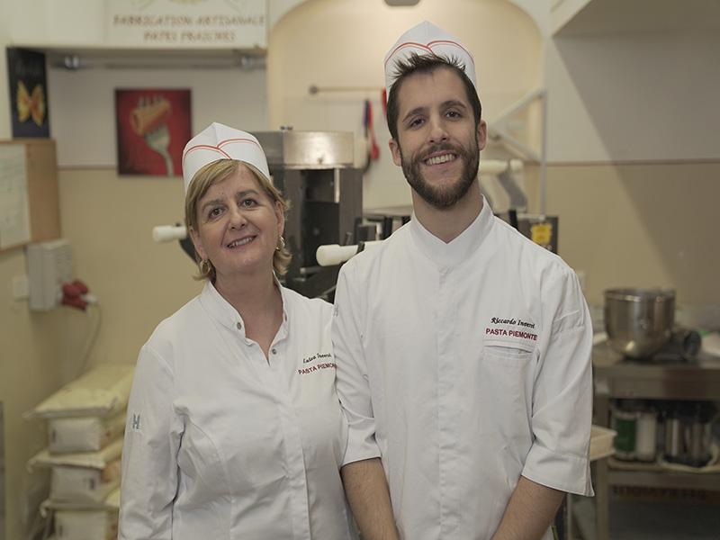 Luisa E Riccardo In Laboratorio