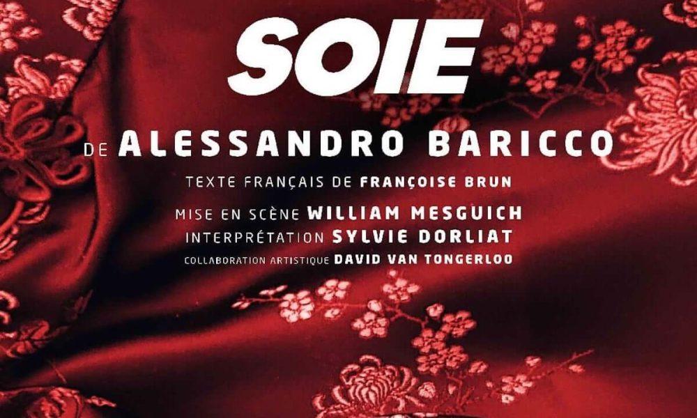 Alessandro Baricco - poster Soie