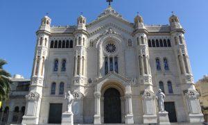 Duomo di Reggio Calabria - Il Prospetto Principale della facciata