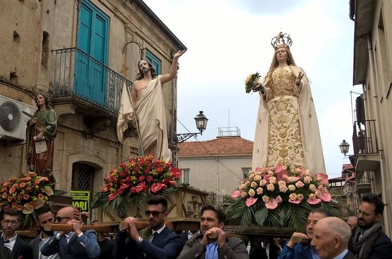 Affruntata - statua della madonna