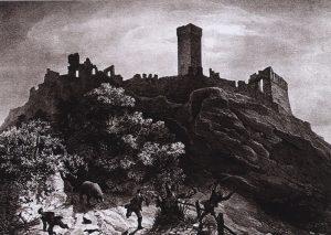 Leggenda Del Castello Di Atì