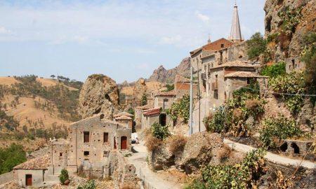 veduta del Borgo al suo interno