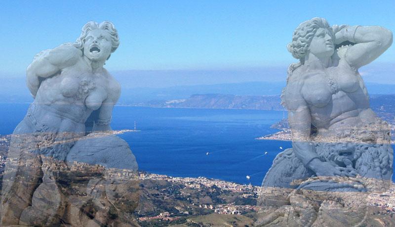 Scilla E Cariddi - le figure del mito
