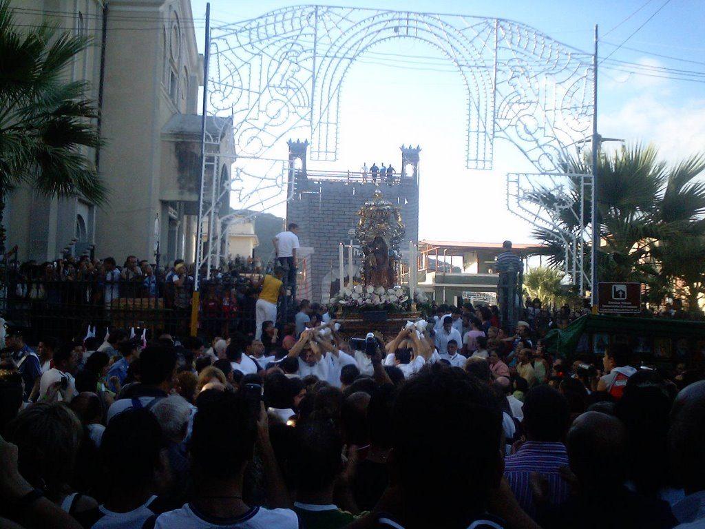 Festa Della Madonna Dei Poveri Di Seminara