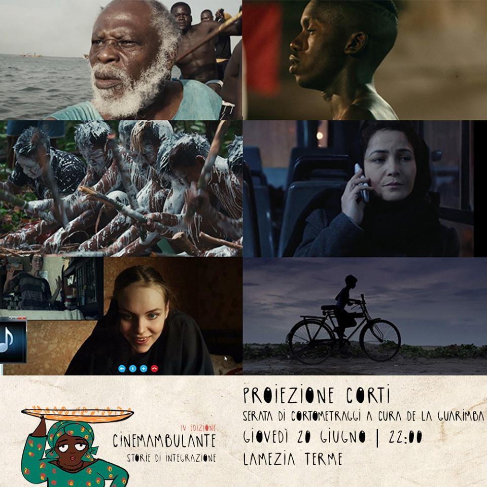 Cinemambulante - la Proiezione Corti della rassegna
