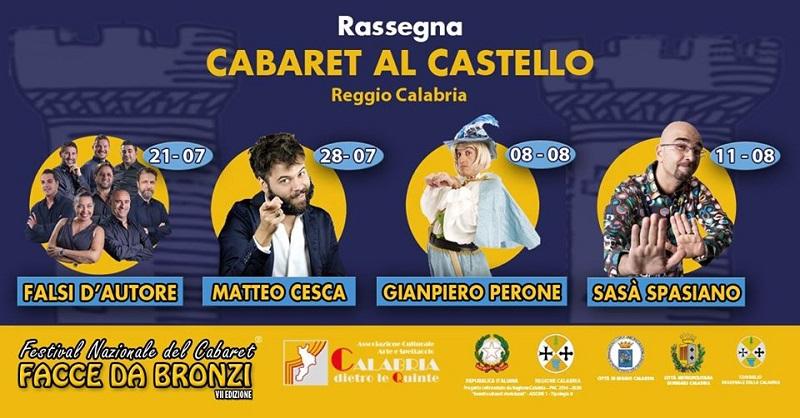 Facce Da Bronzi - il programma di Cabaret Al Castello