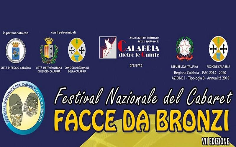 Facce Da Bronzi il manifesto del festival