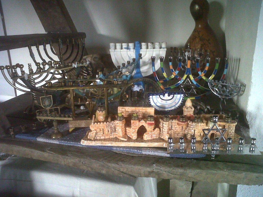 candelieri della religione ebraica