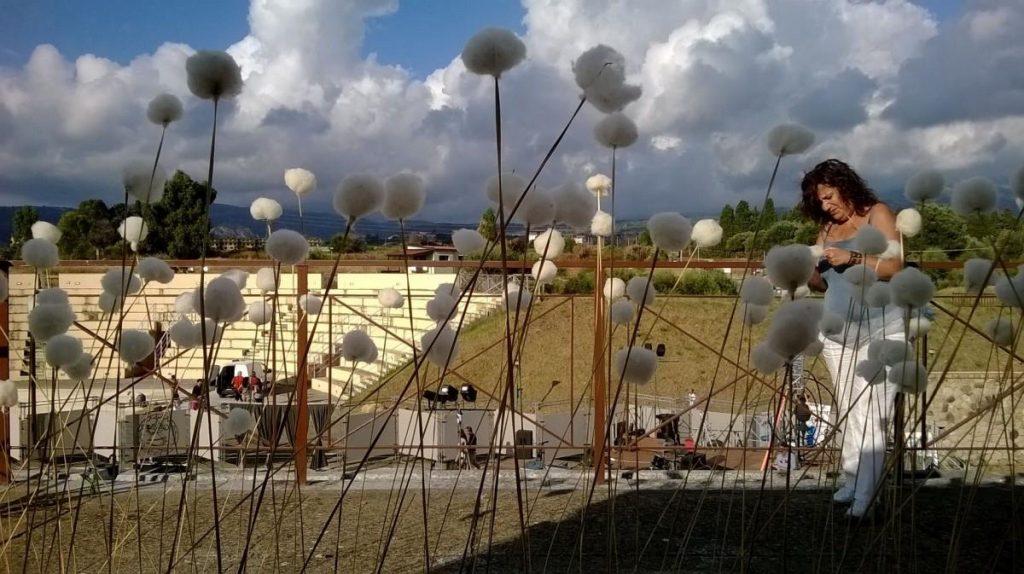 Una Installazione Artistica Al Festival