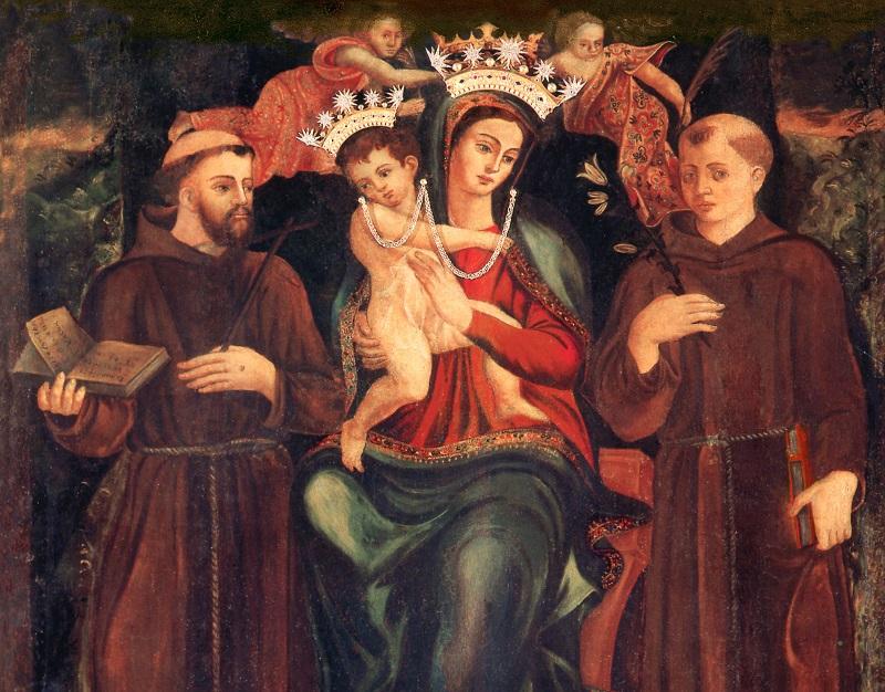 festa della Madonna Della Consolazione - il dipinto di Capriolo