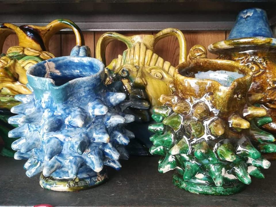 Alcuni Esempi Di Ceramiche Di Seminara