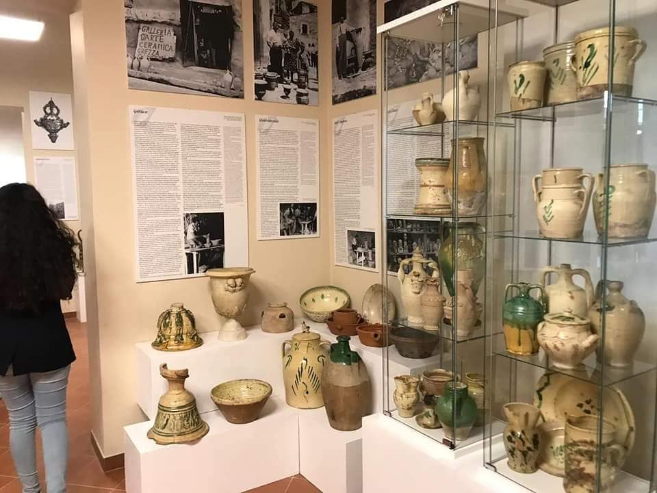 Reperti antichi al museo