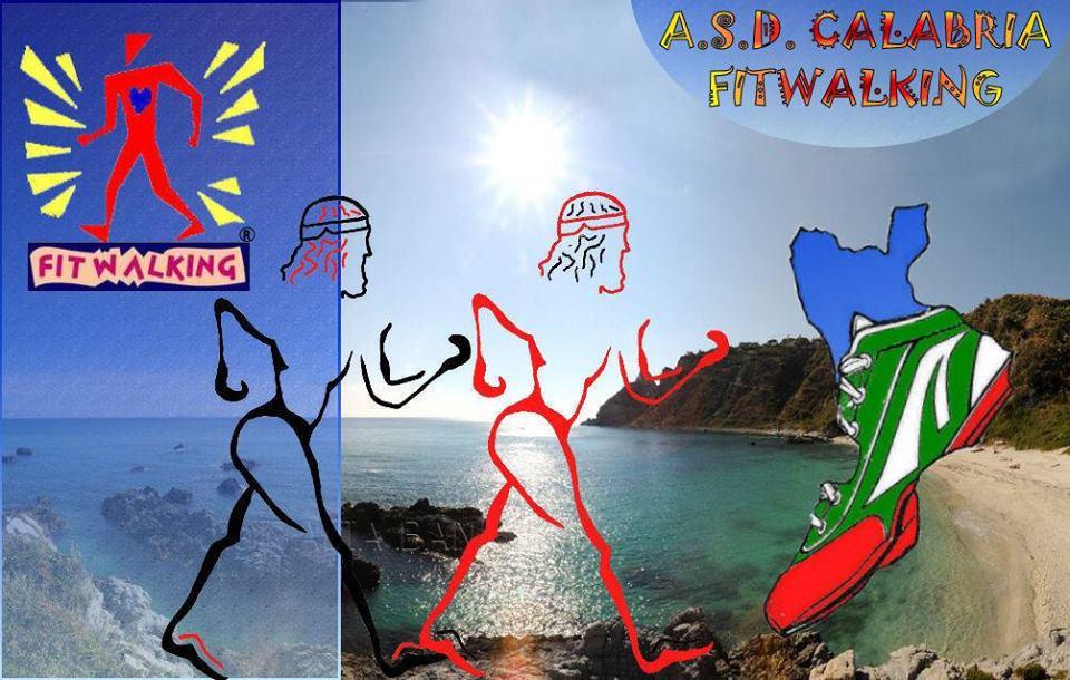Fitwalking Calabria, locandina dell'evento