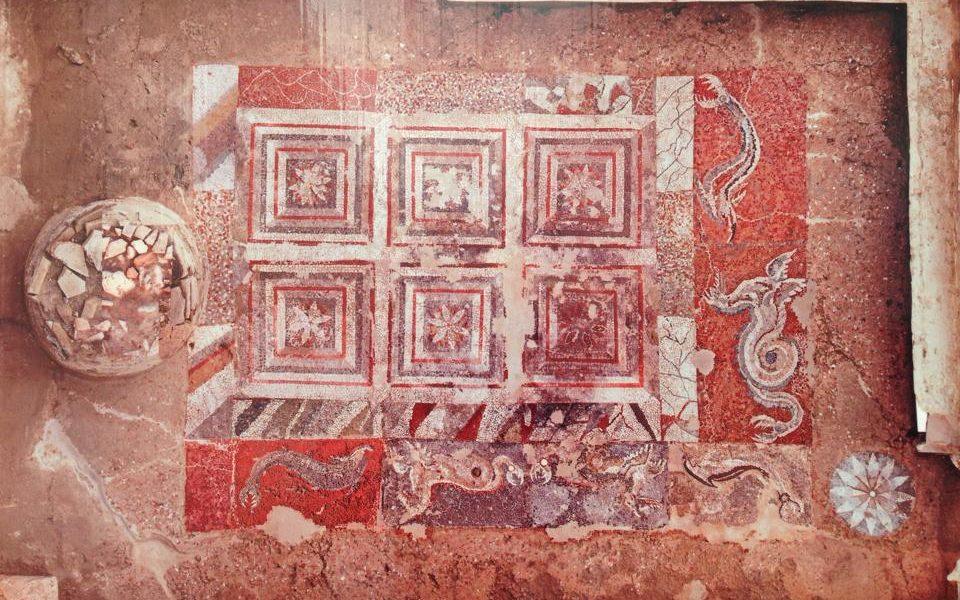 i mosaici dell'antica Kaulon