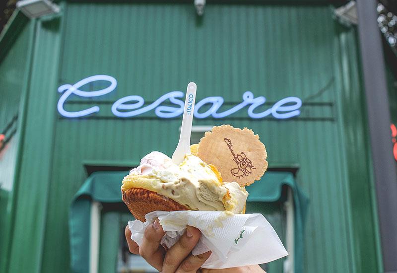 gelato della Gelateria Cesare