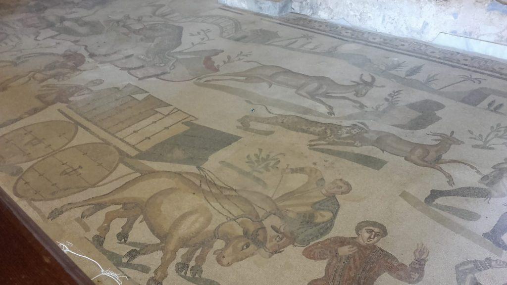 Mosaico Della Villa Romana Di Casignana