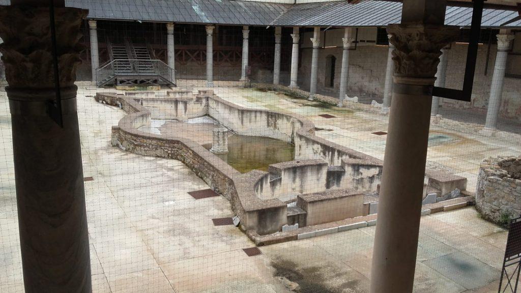 Vasca Della Villa Romana Di Casignana
