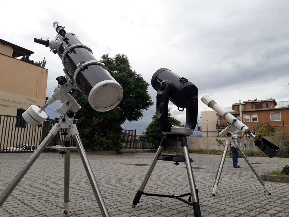 Telescopi in postazione
