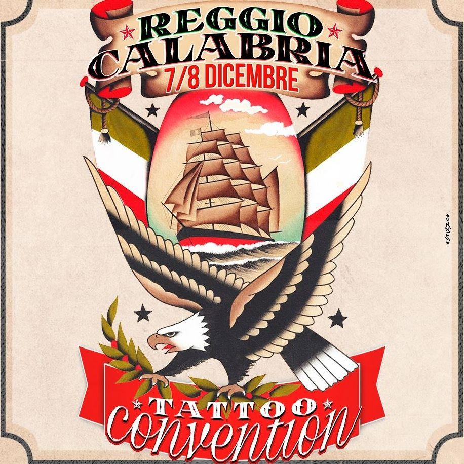 Tattoo Convention Manifesto dell'evento reggino