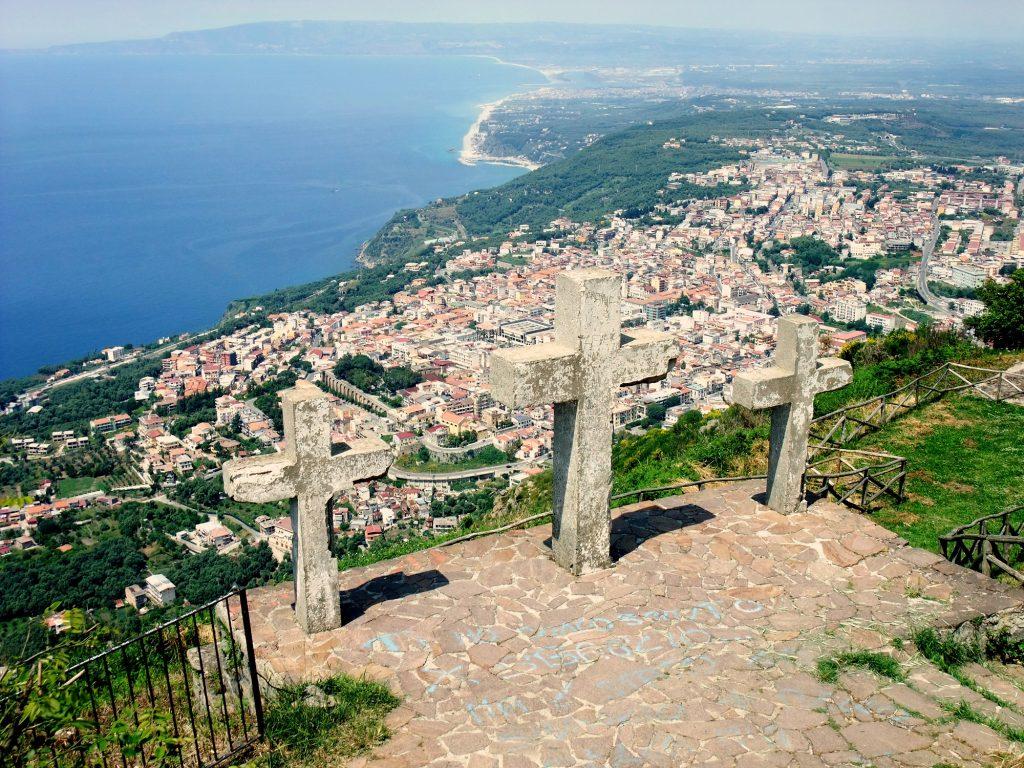 Monte Santelia con le tre croci