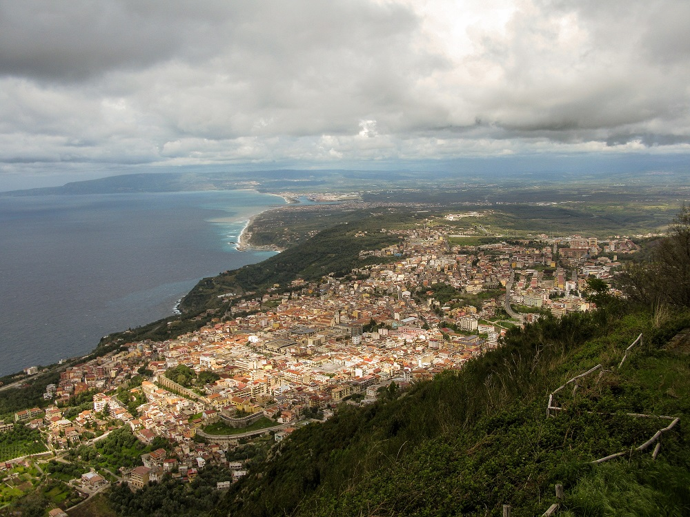 Monte Veduta sul tirreno