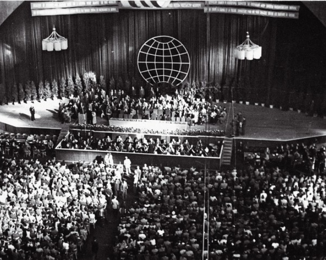 Rèpaci World Congress Of Intellectuals For Peace 1948