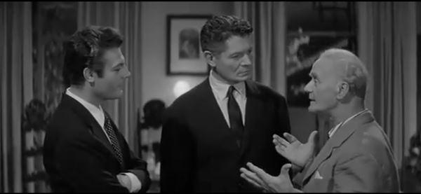 Rèpaci con Mastroianni nel film di Fellini La dolce vita
