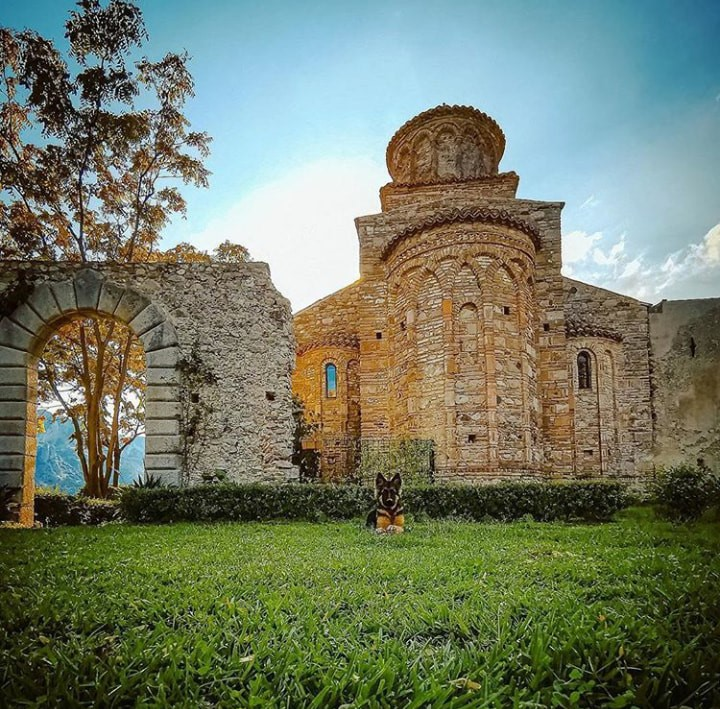 ortodossi Vista Dellabside Della Chiesa
