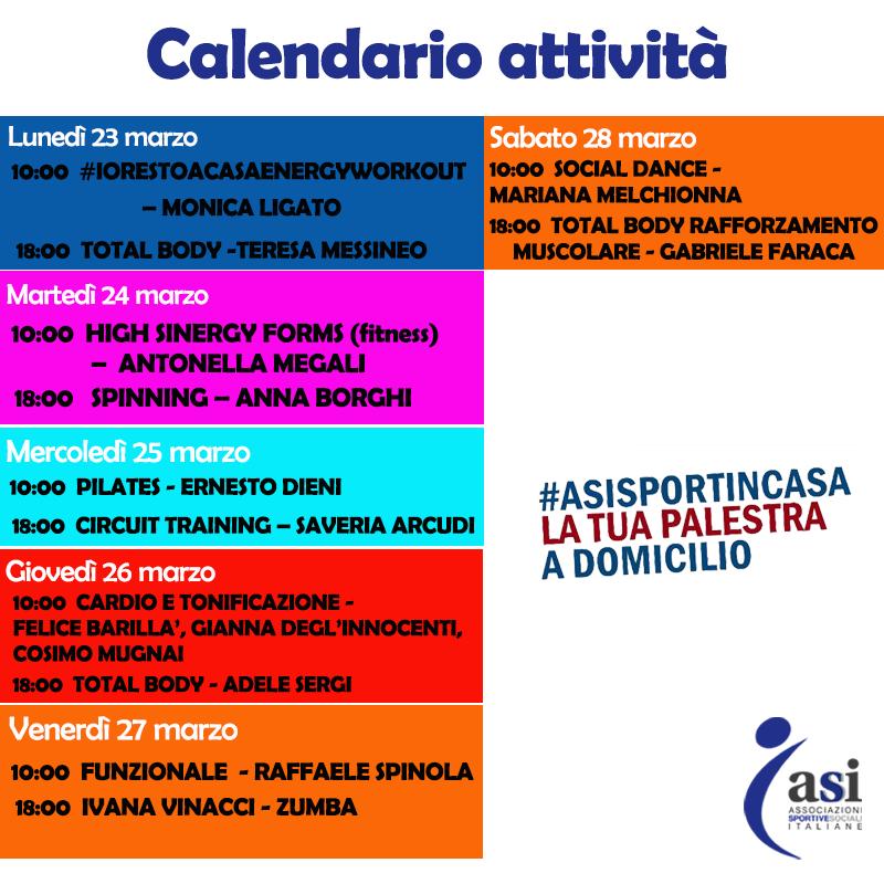 Sport Calendario asi