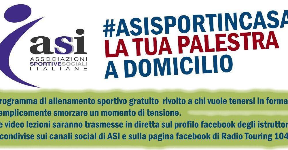 Sport Cover - Locandina asisportincasa